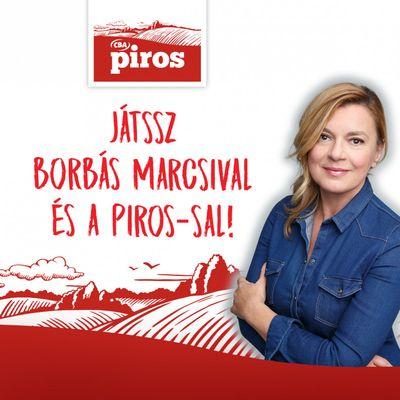 Játssz Borbás Marcsival és a PIROS-sal!